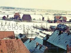 Winter in Bleckede ca 1958