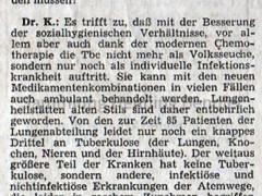 Krankenhaus 1973 - Bericht Teil 3