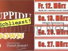 Plakat YUPPIDU FINAL COUNTDOWN