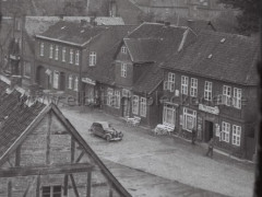 Blick vom Kirchturm auf den Marktplatz 1940