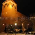 St. Jacobi abends im Schnee