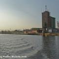Hochwasser 2008 - Blick auf Silo
