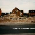 Abriß Blitz Meyer - heute Penny 1989