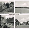 Schloß, Hafen, Breite Str., Burgturm 1954