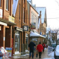 Samstags in Bleckede im Winter